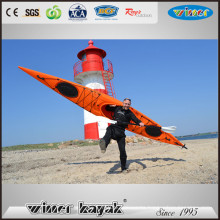 New HDPE Single Sit in Ocean Leisure Life Manufacturing Customize Kayak
